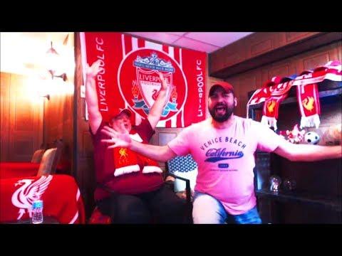 LIVERPOOL BEATS ROMA 5-2!!!! LFC FAN REACTIONS!!!! MOHAMED SALAH'S WONDERGOAL!!!!