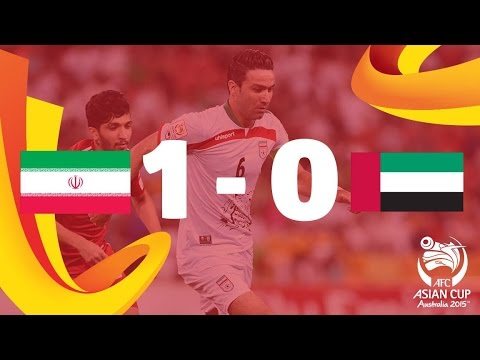 Iran - Iran 1-0 UAE: Reza Ghoochannejhad's last-gasp header gave Iran a 1-0 victory over the United Arab Emirates as Carlos Queiroz's men won Group C of the AFC Asi...