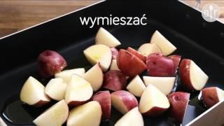 Pieczone czerwone ziemniaczki