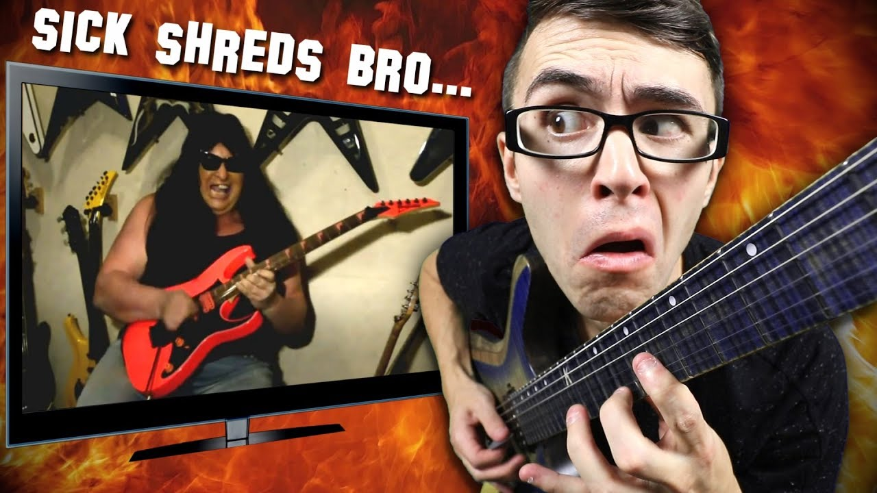 Reacting to Worst Guitar Shredder EVER!