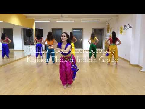 PAKKA LOCAL Choreography | Kritika Thakur Indian Dance Group | Portugal