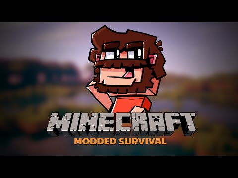Minecraft: Modded Survival | THE QUARRY | Episode 10