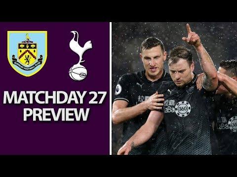 Video: Burnley v. Tottenham | PREMIER LEAGUE MATCH PREVIEW | 02/23/2019 | NBC Sports