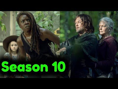 The Walking Dead Season 10 Episodes 1-8 TITLES & SYNOPSIS Breakdown!