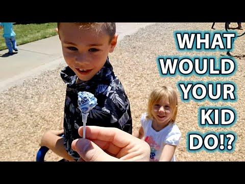Copilul tau ar acceptat dulciuri de la un strain ?
