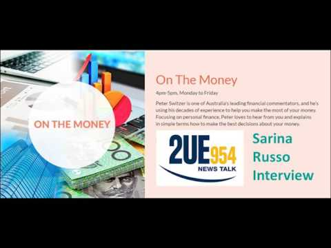 Peter Switzer (2UE) interviews Sarina Russo