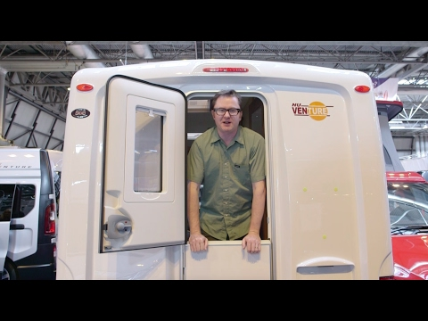The Practical Motorhome Nu Venture Ford Transit Custom conversion review (видео)