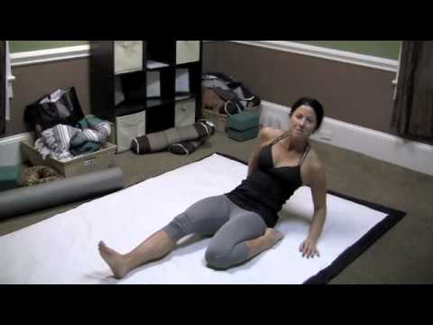 Thai Yoga Stretching Exercise, How to Stretch Quadriceps for Flexibility