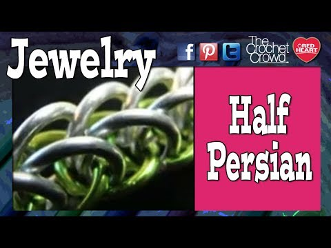 How To Half Persian Chainmaille Tutorial