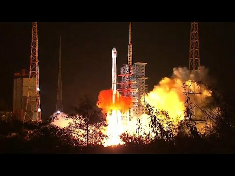 China: Mondsonde gestartet - erste Landung auf der Rü ...