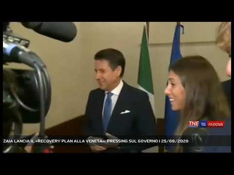 ZAIA LANCIA IL «RECOVERY PLAN ALLA VENETA»: PRESSING SUL GOVERNO | 25/09/2020