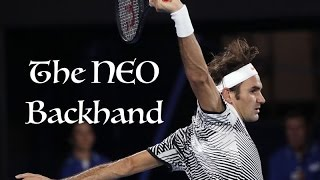 Much of Federer's success at this year's Australian Open 2017 came from his much-improved backhand. This is a compilation of...