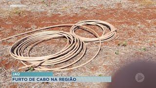 Homem preso após furtar cabos de energia em Jaú