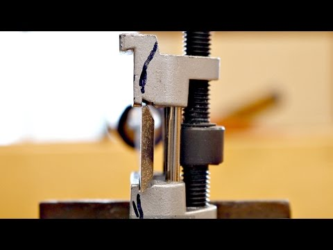 How To Sharpen A Chisel With A $12 Jig
