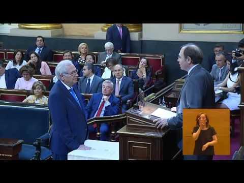 Sesión constitutiva del Senado