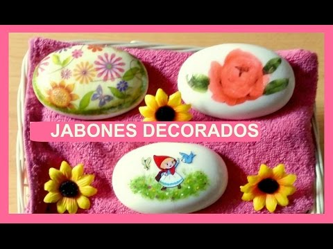 JABONES DECORADOS - MI ATELIER