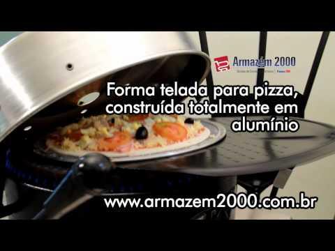 Forma Telada para Pizza - 30 cm