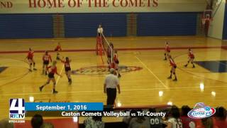 Caston Comets Volleyball vs. Tri-County