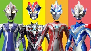 Wrong Heads Ultraman Ribut Finger Family Song Nursery Rhymes for Kids and Toddlers