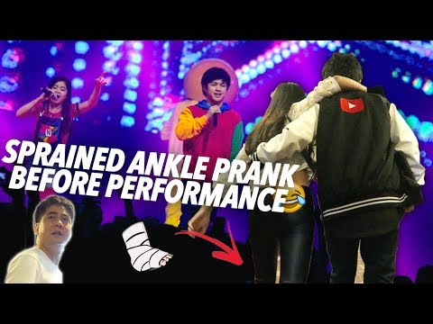 Download Video Sprained Ankle Prank (YTFFPH) | Ranz And Niana