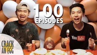 Makan 100 Butir Telur! Video