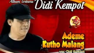 DIDI KEMPOT-ADEME KUTHO MALANG-ALBUM CAMPURSARI TERBARU Video