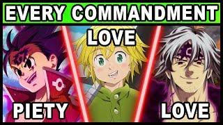 Video Every Character's Commandment Explained! (Seven Deadly Sins / Nanatsu no Taizai) MP3, 3GP, MP4, WEBM, AVI, FLV Juli 2019