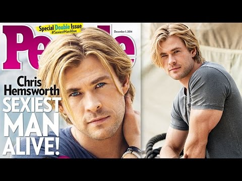 Chris Hemsworth Sexiest Man Alive 2014 People Magazine