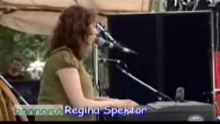 Regina Spektor - Baby Jesus (Bonnaroo 2007)