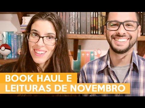 BOOK HAUL E LEITURAS DE OUTUBRO | Admirável Leitor
