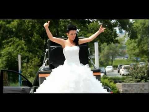Очень динамичная и веселая свадьба (video)