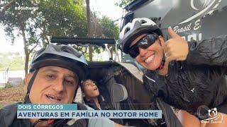 Família Soncini vive aventuras pelo interior paulista
