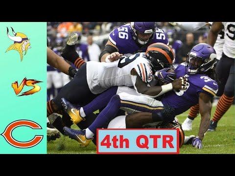 Chicago Bears vs Minnesota Vikings Highlights 4th QTR   Week 10   NFL 2020