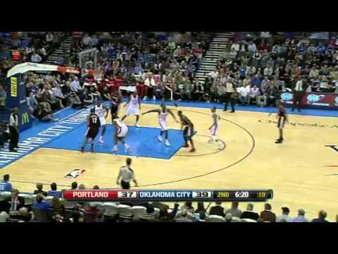 Portland Trail Blazers 103 – Oklahoma City Thunder 93