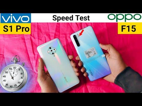 Oppo F15 vs Vivo S1 Pro | Speed...
