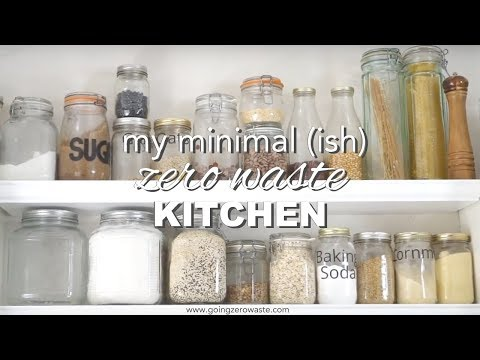 Minimal, Zero Waste Kitchen Tour