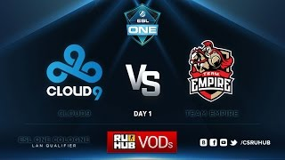 C9 vs Empire, game 1