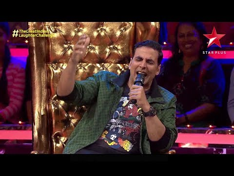 The Great Indian Laughter Challenge | Akshay Kumar's Surprise