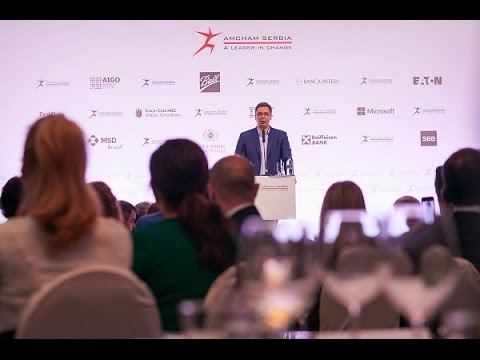 Business Luncheon with PMD Aleksandar Vučić