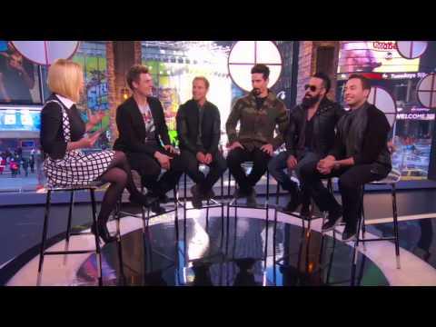 Backstreet boys - in a world like this (live - vh1 big morning buzz 2013) смотреть онлайн бесплатно, без регистрации