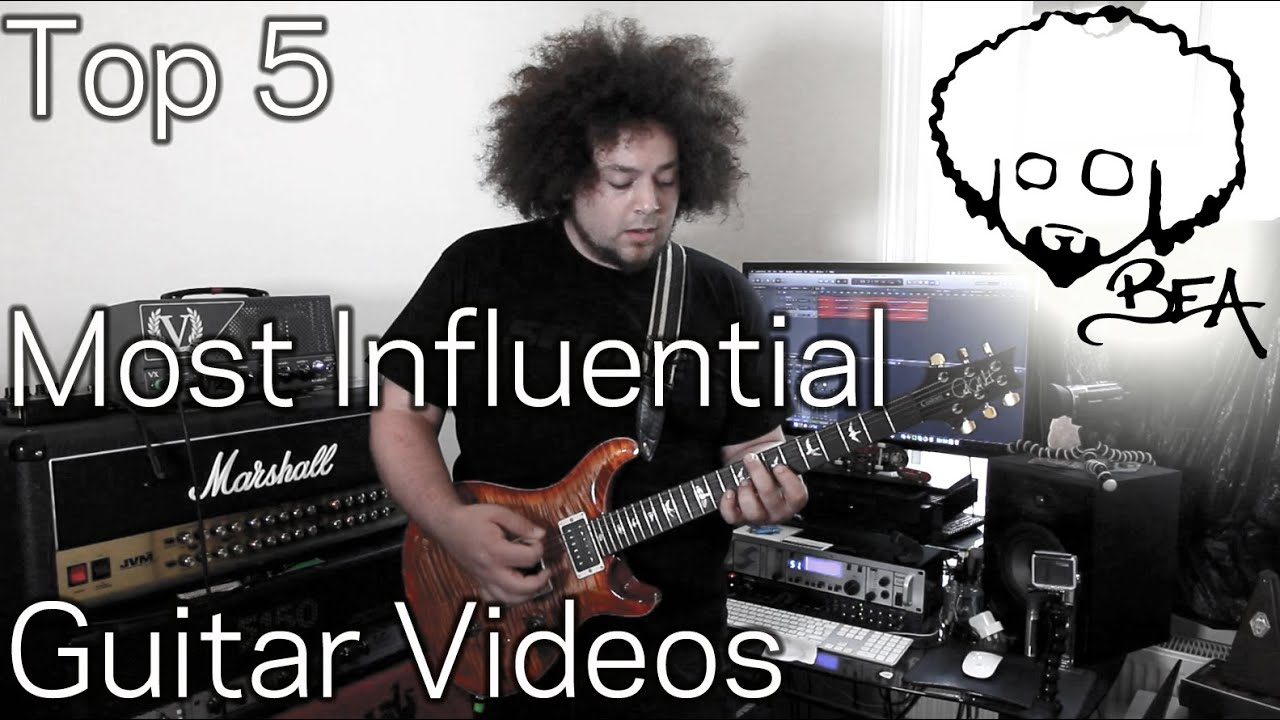 Top 5 Most Influential Guitar Videos