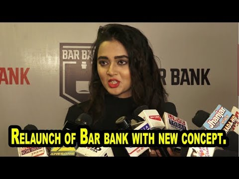 Tejaswi Prakash Wayangankar At Relaunch of Bar bank with new concept ar At Relaunch of Bar bank .