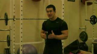 http://www.smartermusclebuilding.com Sean discusses an essential element of weight training that many new lifters often neglect. Checkout the above URL to le...