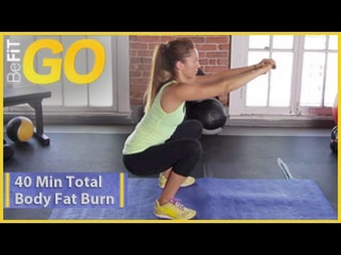 BeFiT GO: 40 Min Total Body Fat Burn Workout- Circuit 2