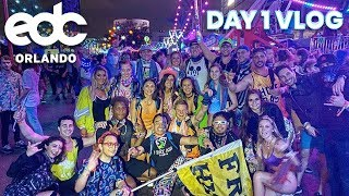 My First Time at EDC Orlando! | Day 1 Vlog