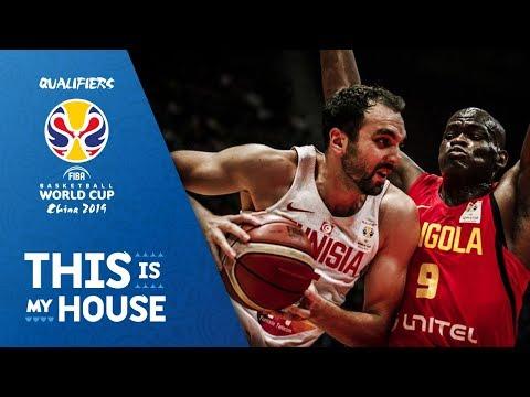 Tunisia v Angola - Highlights - FIBA Basketball World Cup 2019 - African Qualifiers