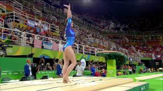 Aliya Mustafina (RUS) Rio 2016 - Vault - Individual All-Around Final