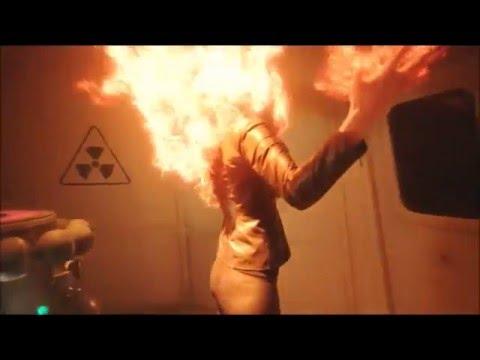 DC's Legends Of Tomorrow 1x05 Stein merges with Valentina into Soviet Firestorm scene