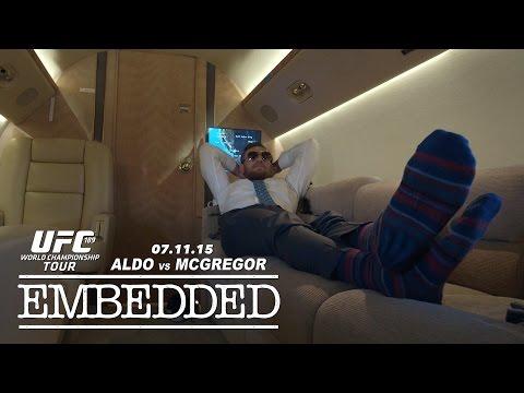 UFC 189 World Championship Tour Embedded: Vlog Series – Episode 4