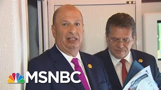 Trump Showing Desperation In Defying Impeachment Inquiry | Rachel Maddow | MSNBC